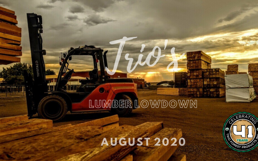 August 17, 2020:  The Lumber Market Today – A Letter from Our Owners